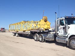 Step Deck Trailer - Heavy Haul Trucking Services